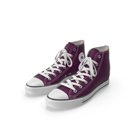 Basketball Shoes Purple PNG & PSD Images