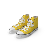 Basketball Shoes Yellow PNG & PSD Images