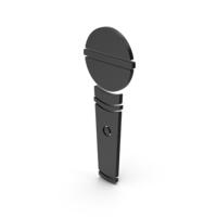 Symbol Microphone Black PNG & PSD Images