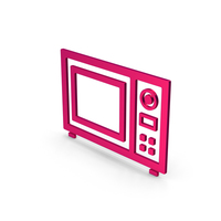 Symbol Microwave Oven Metallic PNG & PSD Images