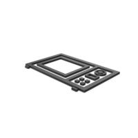 Black Symbol Microwave Oven PNG & PSD Images