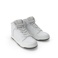 Skateboard Shoes White PNG & PSD Images