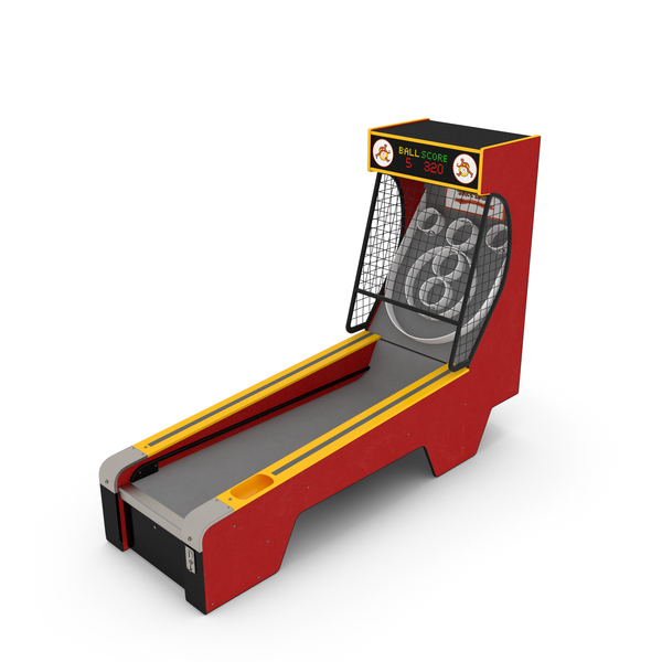 Skee Ball Arcade Game PNG & PSD Images