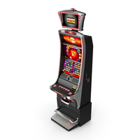 Slot Machine Red PNG & PSD Images