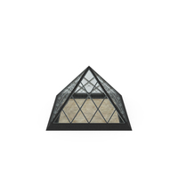 Small Glass Pyramid PNG & PSD Images
