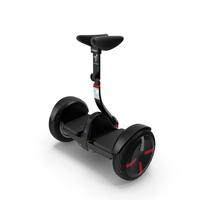 Smart Self Balancing Personal Transporter Ninebot Minipro PNG & PSD Images