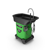 SmartWasher Mobile Parts Washer Kit PNG & PSD Images