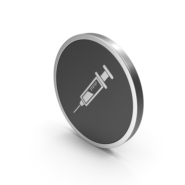 Silver Icon Syringe PNG & PSD Images