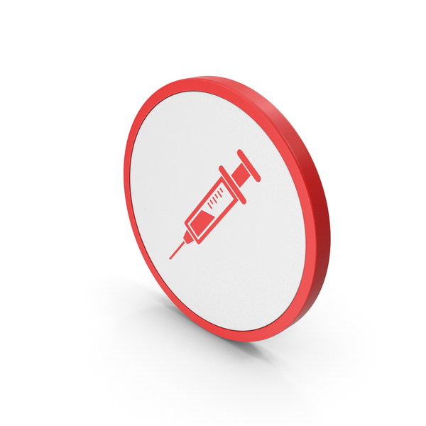 Icon Syringe Red PNG & PSD Images