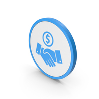 Icon Deal Blue PNG & PSD Images