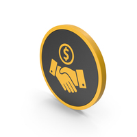 Icon Deal Yellow PNG & PSD Images