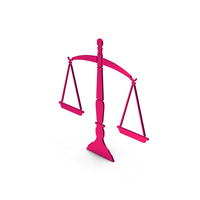 Symbol Scales Of Justice Metallic PNG & PSD Images