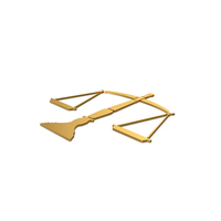 Gold Symbol Scales Of Justice PNG & PSD Images