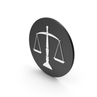 Scales Of Justice Icon PNG & PSD Images