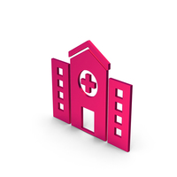 Symbol Hospital Metallic PNG & PSD Images