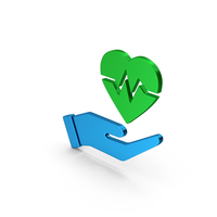 Symbol Medical Heart In Hand PNG & PSD Images