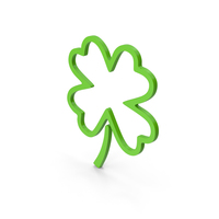 Symbol Clover Green PNG & PSD Images