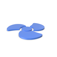 Fan Icon Blue PNG & PSD Images