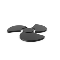 Fan Icon Black PNG & PSD Images