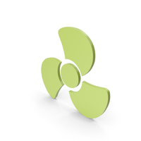 Fan Icon Green PNG & PSD Images