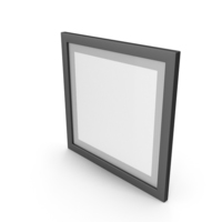 Black Framed Paintings with Grey Border PNG & PSD Images