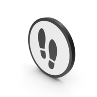 Icon Shoe Footprint PNG & PSD Images