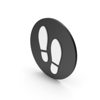 Shoe Footprint Icon PNG & PSD Images