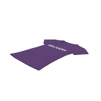 Female V Neck Laying Purple Delivery PNG & PSD Images