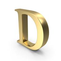 Alphabet Time's Roman D PNG & PSD Images