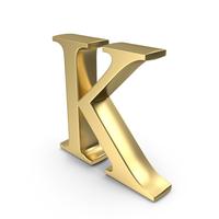 Alphabet Time's Roman K PNG & PSD Images