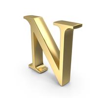 Alphabet Time's Roman N PNG & PSD Images