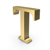 Alphabet Time's Roman T PNG & PSD Images