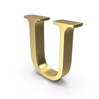 Alphabet Time's Roman U PNG & PSD Images