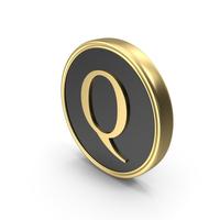 Alphabet Time's Roman Coin Q PNG & PSD Images