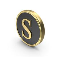 Alphabet Time's Roman Coin S PNG & PSD Images