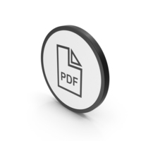 Icon PDF File PNG & PSD Images