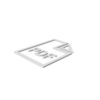 PDF File Symbol PNG & PSD Images