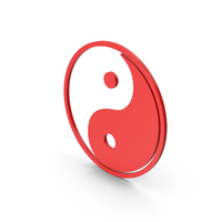 Symbol Yin Yang Red PNG & PSD Images