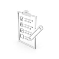 Symbol Checklist PNG & PSD Images