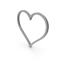 Heart Grey Icon PNG & PSD Images