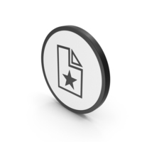 Icon Favorite File PNG & PSD Images