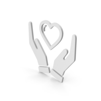 Symbol Heart In Hands PNG & PSD Images