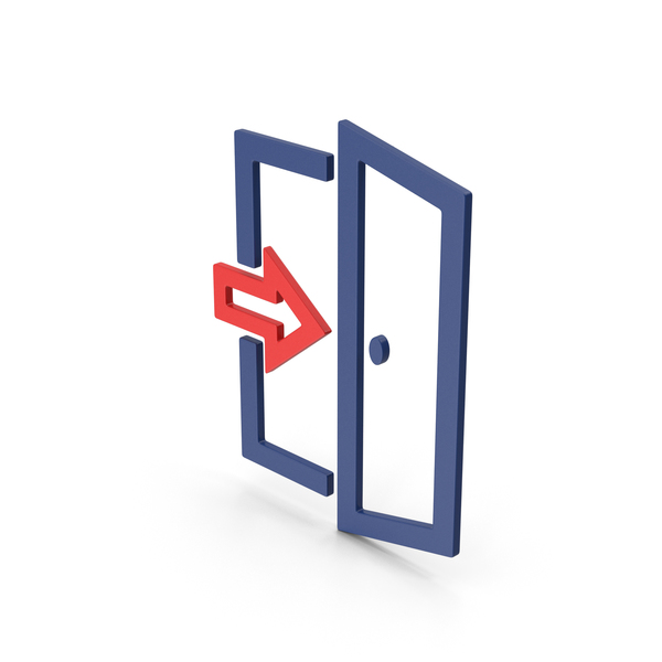 Symbol Exit Red PNG & PSD Images