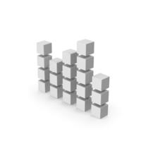 Symbol Graph Cube Chart PNG & PSD Images