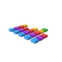 Cube Chart Symbol PNG & PSD Images