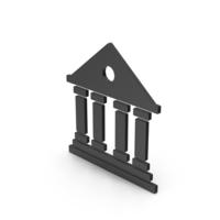 Symbol Architecture / Building Black PNG & PSD Images
