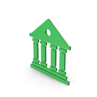 Symbol Architecture / Building Green PNG & PSD Images