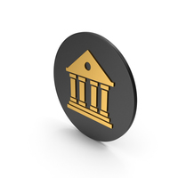 Architecture Gold Icon PNG & PSD Images