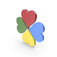 Heart Colors Icon PNG & PSD Images