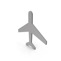 Aeroplane Grey Icon PNG & PSD Images